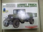 Сборная модель гузовика Зис-5в и Зис- 44 санитарная.