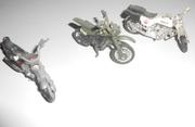 Моделки мотоциклов.